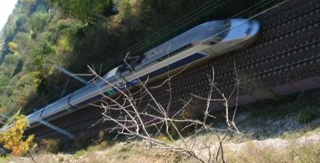 TGV stopped by hairdryer on the line