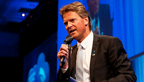 Clinton's coming? Mayor of Tromsø last to know