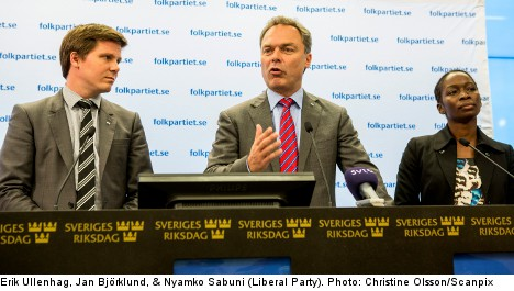 'Link learning Swedish to citizenship': Liberals