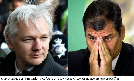 Flood of email support for Assange asylum bid