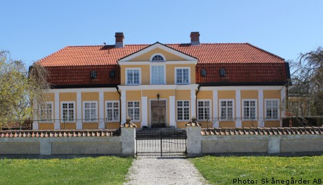 Sweden's 'priciest' country manor for sale