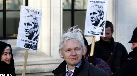 Assange seeks political asylum in Ecuador