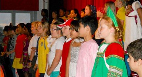 International school opens children's eyes