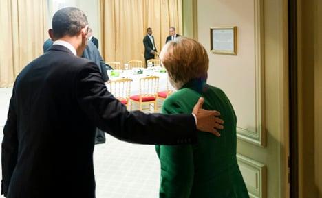 Merkel's plan for euro 'encourages' Obama