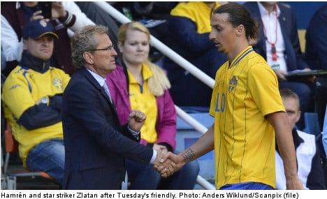 Ukraine 'favourites' for opening win: Hamrén