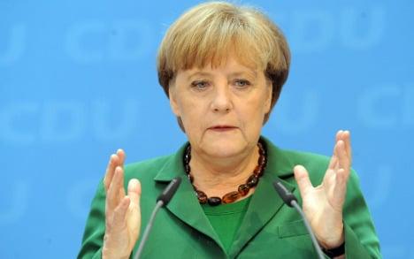 Merkel losing domestic political oxygen