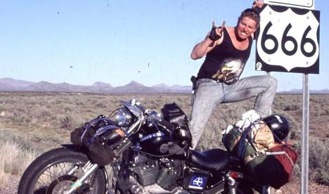 'I am not a Satanist': Sweden's 'mad' biker