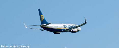 Surfer lands in Sweden after Ryanair mix-up