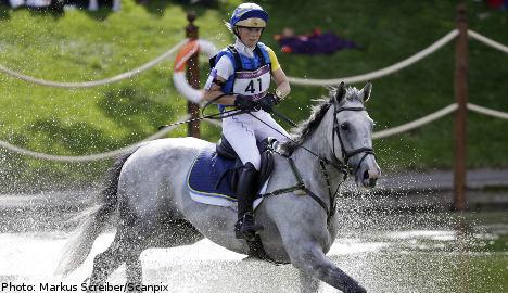 Algotsson Ostholt claims Sweden's first medal