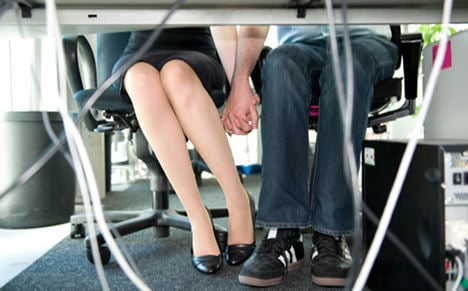 Most Germans 'have had an office romance'