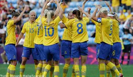 Swedish women crush South Africa 4-1