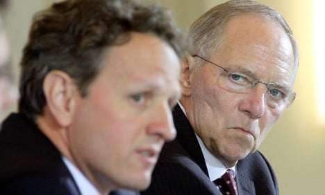 US, German finance ministers 'confident'