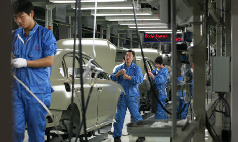 Chinese 'theft' leaves VW competing against self