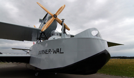 Unique North Pole seaplane replica unveiled