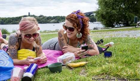 Swedes hail long-awaited summer sunshine