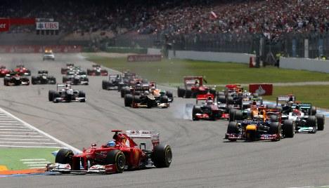 Flawless Ferrari wins German Grand Prix
