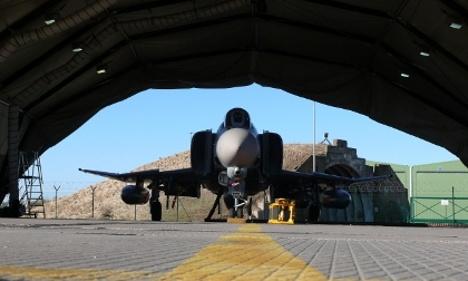 Luftwaffe escort startles holidaymakers