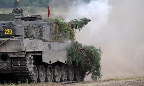 Qatar in talks to buy 200 German tanks