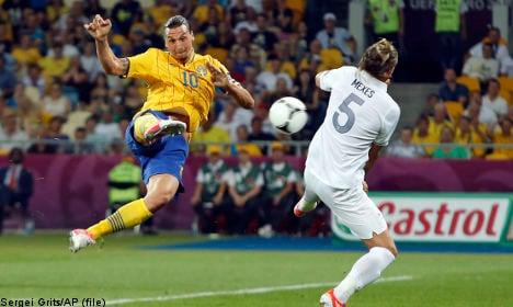 Spectacular Zlatan goal voted 'best of Euro 2012'