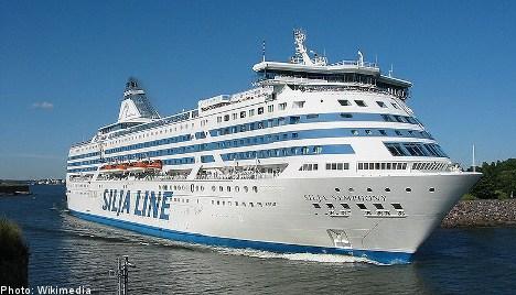 Swedish man falls off Finland-bound ferry