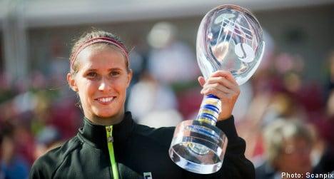 Hercog defends Swedish Open title