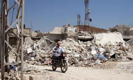 German spies 'active on rebel side in Syria'