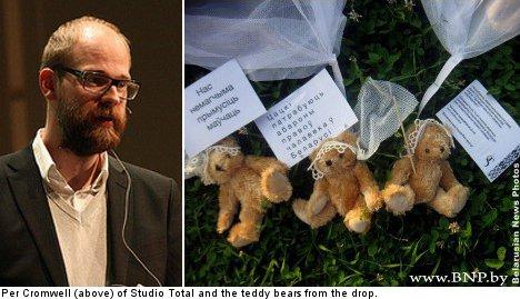 KGB summons teddy bear drop Swedes