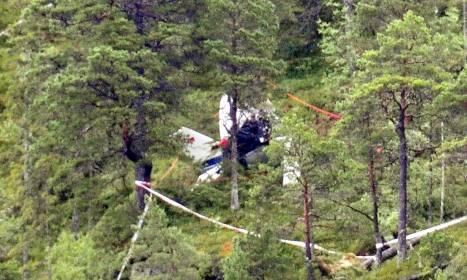 Three Germans killed in plane crash