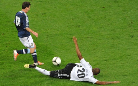 Germany crumble in Argentina friendly