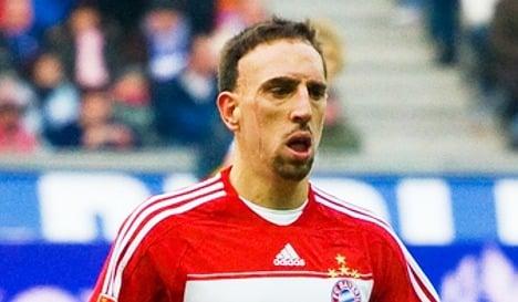 Bayern Munich backs Ribéry over sex charges