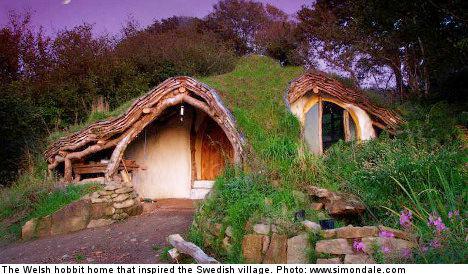 Hobbit-village planned for Stockholm island