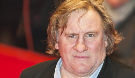 Depardieu 'punched motorist in the face'
