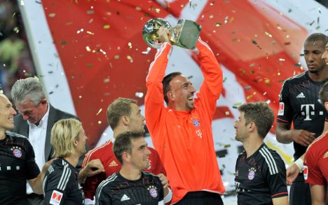 Bayern bag first bragging rights over Dortmund