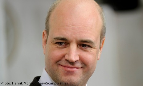 Reinfeldt presents plan for 2014 election fight