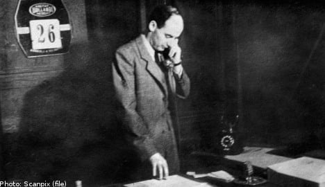 Israeli group calls for Interpol probe into Raoul Wallenberg case