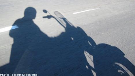 Swedish biker gang member held in Germany