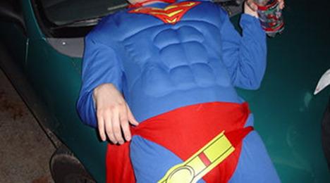 Swedes jail drunk Norwegian 'superhero'