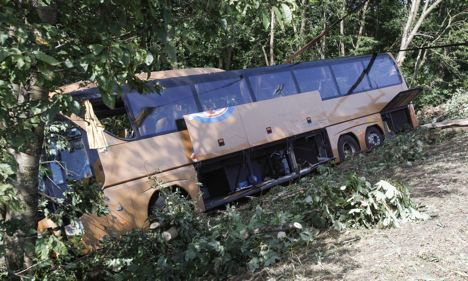 School trip ends in fatal bus crash