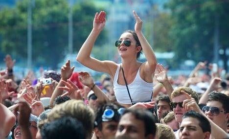 Zurich's Street Parade draws a million revellers