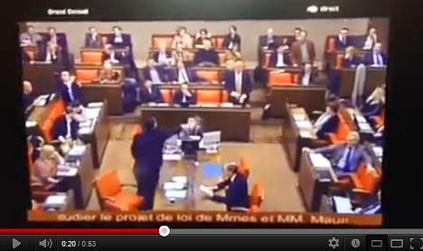 Pepper-sprayed Geneva MP alleges assault