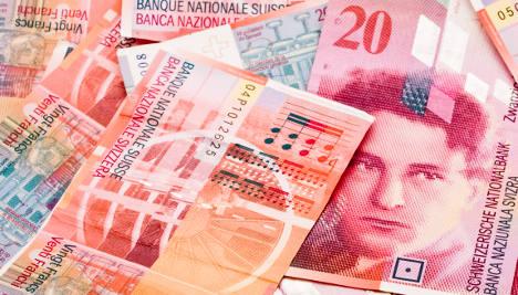 Switzerland forecasts 1.5 billion franc surplus