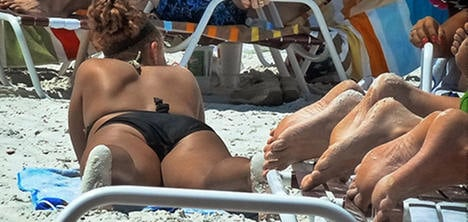 Parisians warned off sex on the beach