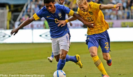 Brazil beat Sweden 3-0 in Råsunda friendly