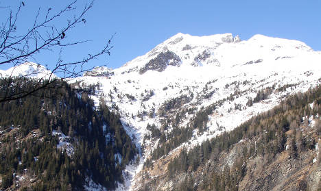 Elderly German hiker freezes to death in Alps