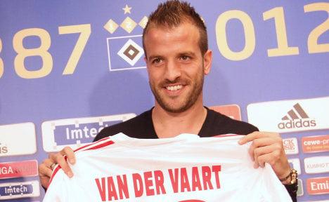 Van der Vaart returns to Hamburg for €13m