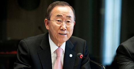 Ban hails Switzerland's ten years in UN