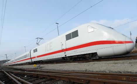 Drunk survives fall under high-speed train