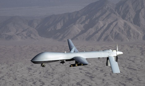 Air Force calls for armed Euro-made drones