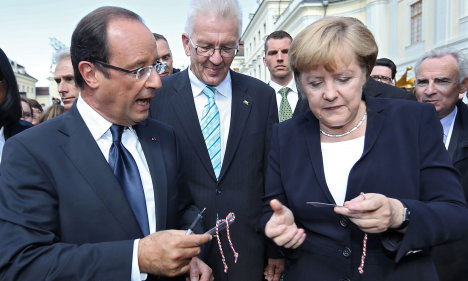 Discord overshadows Franco-German harmony