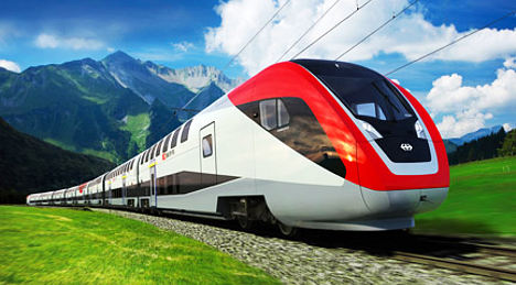 Tests underway for new Swiss 'monster' trains